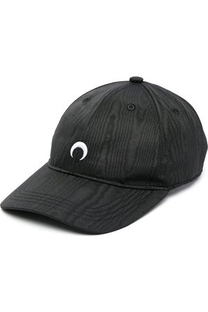 Marine Serre Naiset Hatut - Embroidered logo baseball cap