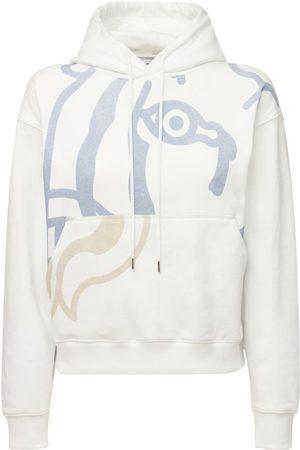 Kenzo Naiset Collegepaidat - K-tiger Cotton Sweatshirt Hoodie