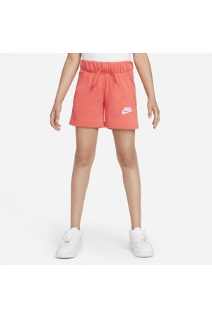 Nike Sportswear Club Older Kids' (Girls') French Terry Shorts - Orange