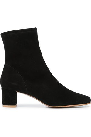 By Far Ankle-length suede boots