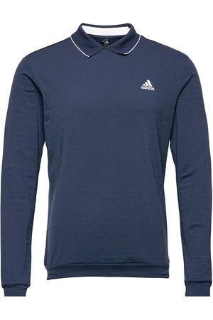 adidas Ls Thermal Polo Polos Long-sleeved Sininen