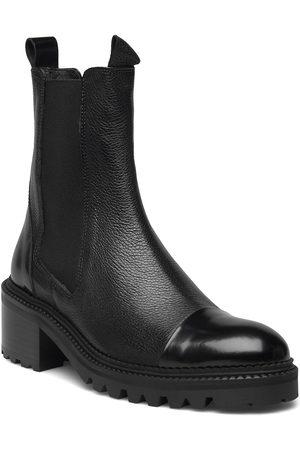 Billi Bi Booties Shoes Chelsea Boots Musta