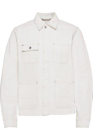 Scotch&Soda Miehet Farkkutakit - Ams Blauw Workwear Shirt Jacket Farkkutakki Denimtakki