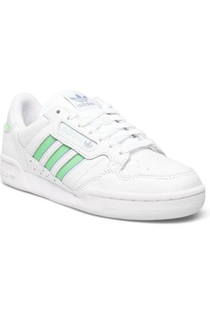 adidas Continental 80 Stripes W Matalavartiset Sneakerit Tennarit Valkoinen