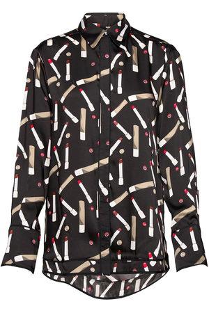 Victoria Victoria Beckham Piping Detail Shirt Pitkähihainen Paita