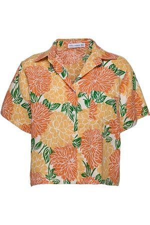 FAITHFULL THE BRAND Naiset T-paidat - Deryn Shirt Lyhythihainen Paita Oranssi