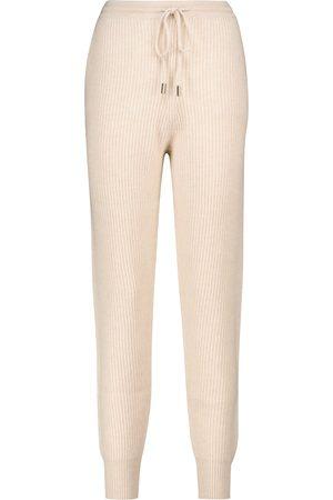 JONATHAN SIMKHAI Ribbed knit sweatpants