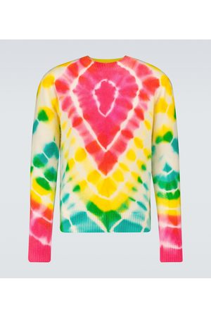 THE ELDER STATESMAN Miehet Neuleet - Burst Simple crewneck sweater