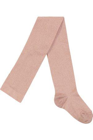 Il gufo Metallic tights