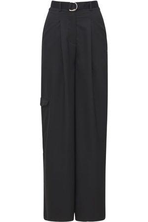 Reebok Naiset Leveälahkeiset - Classic Wide Leg Pants