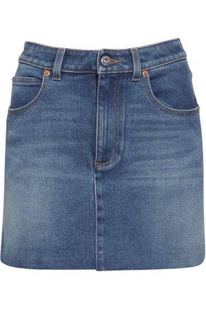 VALENTINO Denim Mini Skirt