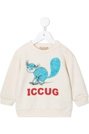 Gucci Logo-print long-sleeve sweatshirt