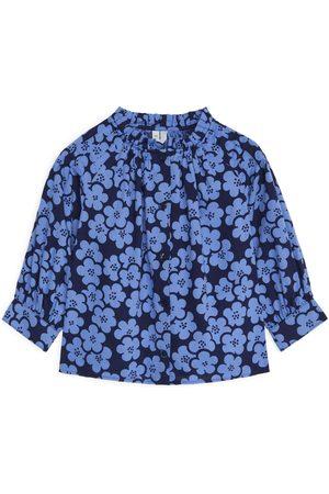 ARKET Floral Blouse - Blue