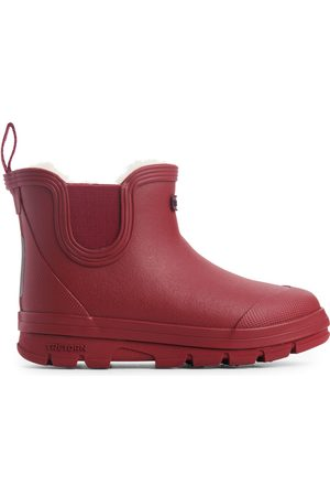ARKET Tretorn Winter Chelsea Boots - Red