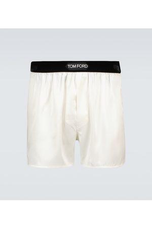 Tom Ford Silk-blend boxer briefs