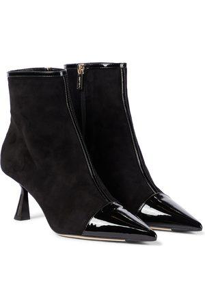 Jimmy Choo Kix/Z 65 suede boots