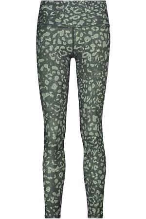 VARLEY Luna high-rise camouflage leggings