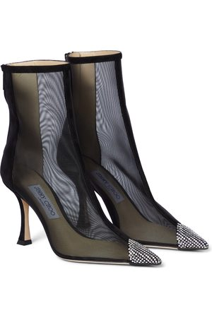 Jimmy Choo Naidoo 90 mesh ankle boots