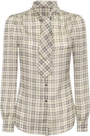 SAINT LAURENT Silk Blend Shirt