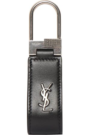 SAINT LAURENT Ysl Leather Key Ring