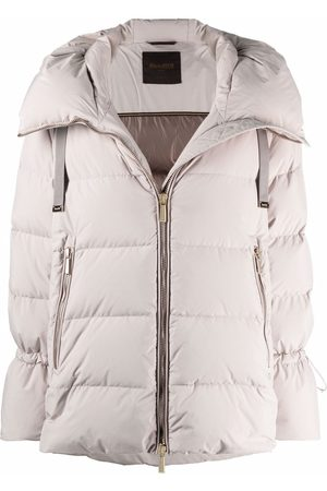 MOORER Naiset Untuvatakit - Boudin-quilted down-filled padded jacket