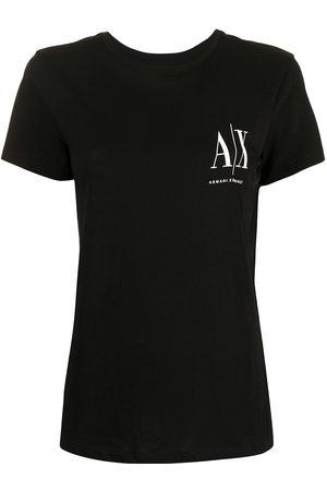 Armani Exchange Logo-print cotton T-shirt