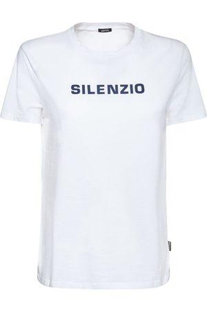 Aspesi Naiset T-paidat - Printed Cotton Jersey T-shirt