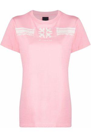 Pinko Logo-print T-shirt