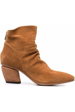 Officine creative Suede ankle-length boots
