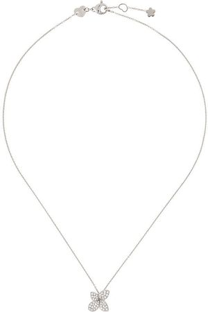 Pasquale Bruni Naiset Kaulakorut - 18kt white gold Petit Garden diamond necklace
