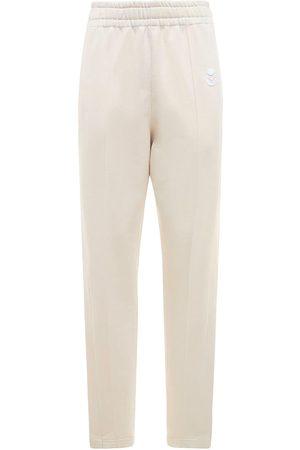 ISABEL MARANT ÉTOILE Inaya Logo High Waist Straight Pants
