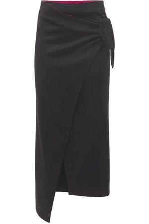 ISABEL MARANT ÉTOILE Isilde Wrapped Crepe Midi Skirt