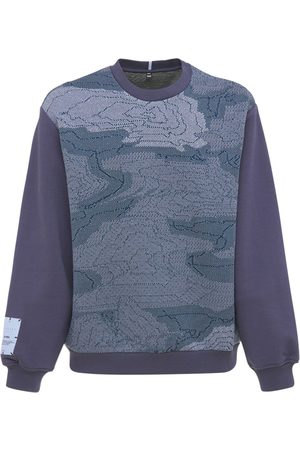 McQ Breathe Cotton Blend Sweatshirt