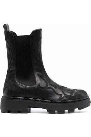 Miu Miu Naiset Nilkkurit - Western-motif Chelsea boots