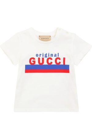 Gucci Baby logo cotton jersey T-shirt