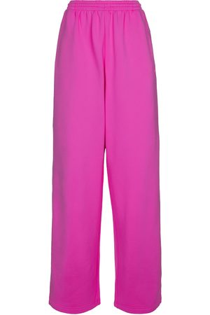 Balenciaga Jersey wide-leg sweatpants