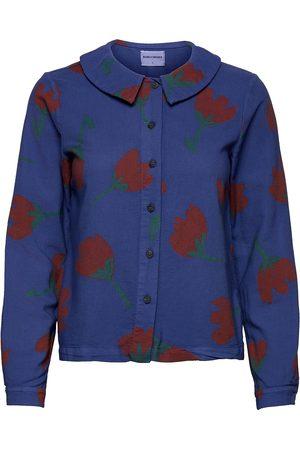 Bobo Choses Flower Print Flat Collar Shirt Pitkähihainen Paita