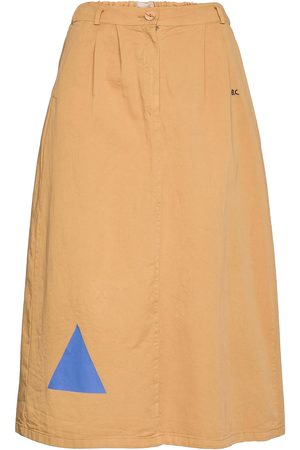 Bobo Choses Geometric Print Midi Skirt Polvipituinen Hame Beige