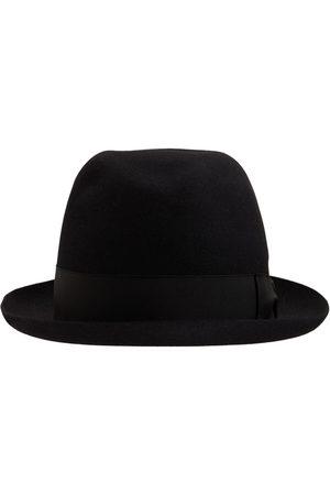 Borsalino Miehet Hatut - Alessandria Felt Hat W/satin Hatband
