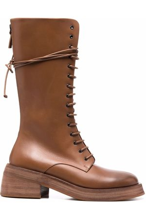 MARSÈLL Naiset Ylipolvensaappaat - Knee-length leather boots
