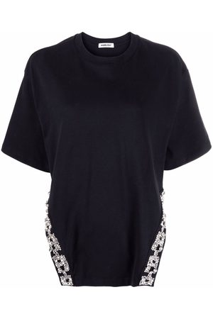AMBUSH Naiset T-paidat - A CHAIN EMBRODERY TEE NO COLOR