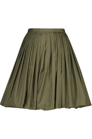 Alaïa Naiset Minihameet - Cotton-blend poplin miniskirt