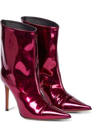 ALEXANDRE VAUTHIER Raquel 105 patent leather ankle boots