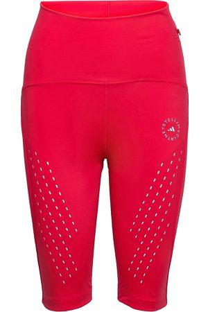adidas Naiset Shortsit - Truepurpose High Waist Bike Shorts W Shorts Cycling Shorts Vaaleanpunainen