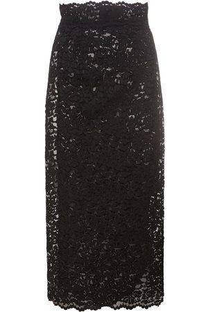 Dolce & Gabbana Macramé Lace Midi Skirt