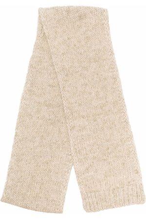 Maison Margiela Knitted alpaca-blend scarf