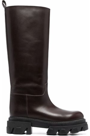 P.A.R.O.S.H. Naiset Ylipolvensaappaat - Knee-high leather boots
