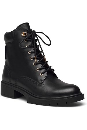 Coach Lorimer Bootie Shoes Boots Ankle Boots Ankle Boot - Flat