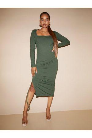 Envii Naiset Kotelomekot - Enzoe Ls Square Dress 5344