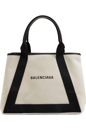 Balenciaga Naiset Lompakot - Md Cabas Canvas Tote Bag